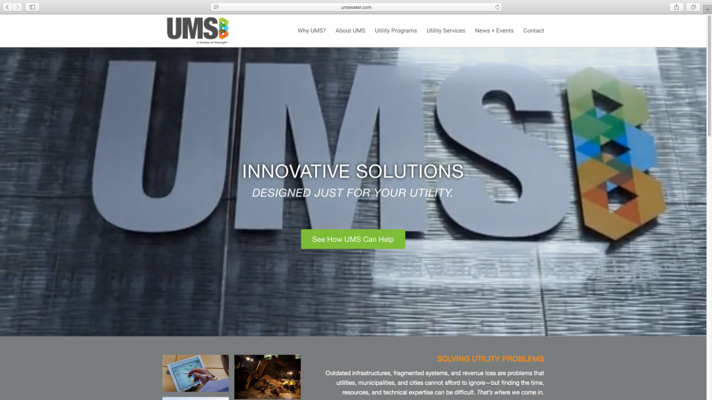 UMS, Utility Metering Solutions, Advanced Metering Infrastructure, Installation, Feasibility Assessments, New Website