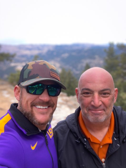 UMS Field Services Manager, Brian Miller (Right) & Justin Kelley, Sr. Construction Manager (Left) pictured in Colorado